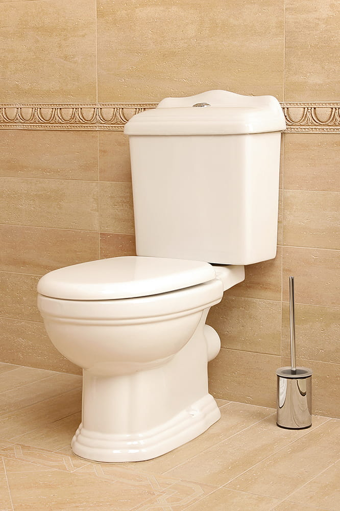 wc kompakt toilette retro stil weiss stand wc bodenstehend boden wc soft close ebay. Black Bedroom Furniture Sets. Home Design Ideas